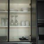 kitchenette in room 2310 studio