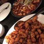 Ma-Po Tofu and Spicy Chicken