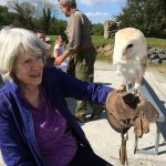 My mom loves owls, so this was a memorable experience for her!