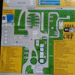 Layout Map of Holiday Park