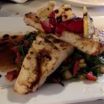Seared fish with roasted tomatoes - daily special