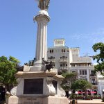 Christopher Columbus statue at Plaza Colon