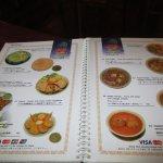 Large menu!