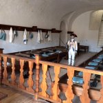 Barracks set up for Spanish soldiers
