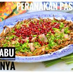 A favourite version of the kerabu (salad) in the nyonya style