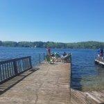 The docks at Birch Knoll