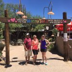 Enjoying a great drive to Cave Creek with a stop at Horny Toad!