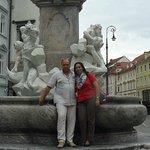 The Robba fountain Ljubljana Slovenia