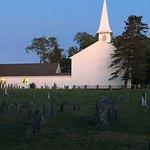 Church across from Inn.