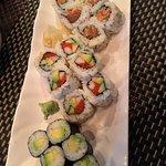 Spicy Salmon, California & Avocado rolls