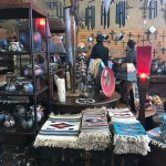 One of the shops in Jerome. Shoppers can buy Native American themed items.