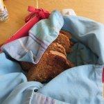 Katherine's amazing homemade bread.