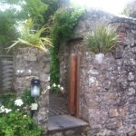 The beautiful entrance to the garden and house.