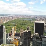 view north toward Central Park