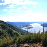Beautiful view of the gorge