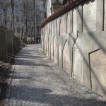 outer walkway around the cemetery
