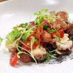 OTIS Grill - Roasted Baby Squid & chorizo