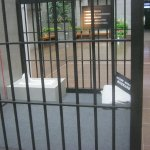 Exhibition about drugs---prison cell