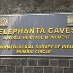 Elephanta Caves Foto