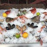 La Planche corse, la pêche locale, le poulpe à la plancha, les meilleurs produits sont servis à
