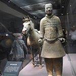 Calveryman and warhorse