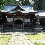古い神社もありました