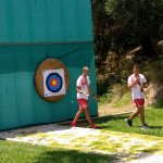 Archery is one of the daily activities guests can take part in