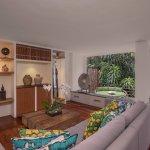 Living Room in River Villa 1