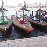Dubai Creek wooden boats