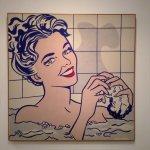 Woman in Bath by Roy Lichtenstein