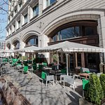 alfresco terrace at the pagination