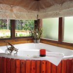 Jacuzzi in each room