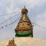 The Stupa......