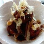 Takoyaki - crispy, creamy balls with octopus in