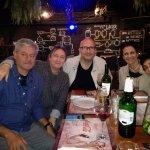 Hermoso encuentro con mi amiga Carla Salonia, su pareja Claudio mi hermana Adriana y mi señora G