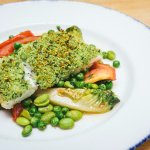 Herb Crusted Hake