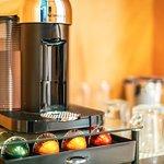 In-room Nespresso Coffee