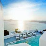 The Villa private swimming pool and sun deck