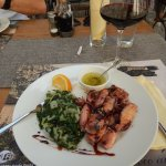 grilled squid and red wine Vranac Pro Corde