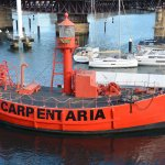 Carpentaria, the unmanned light ship