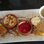 Café gourmand breton. Délicieux!