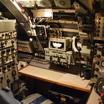 One of the control rooms of HMAS On-Slow