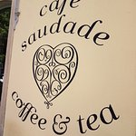 Cafe Saudade- Sign
