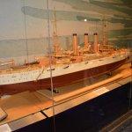 Model of USS Vermont (1904)