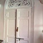 porte de la suite SAFA (toutes les suites ont la même belle porte)