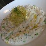 Smoked haddock risotto!