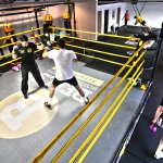 Boxcircuit classes featuring 15 rounds of strength & conditioning, fitness and padwork