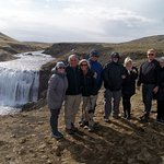 Our first waterfalls........Filming Site of Game of Thrones!
