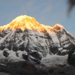 Sunrise view from Annapurna Base camp.