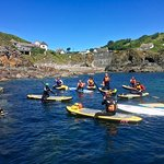 Paddle Board instructors course Cadgwith Cove